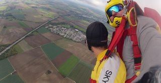 Fallschirm - Schirmfahrt