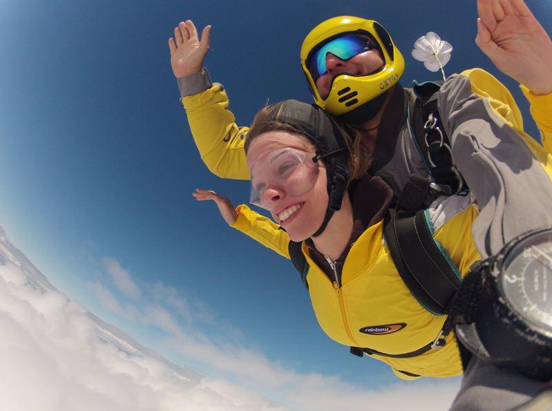 Fallschirmspringen Erfahrungsberichte Vom Tandemsprung