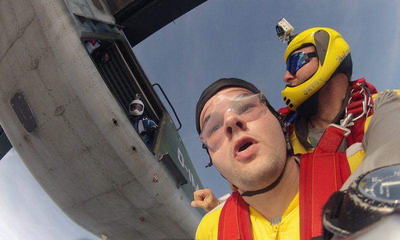 Fallschirmsprung als Tandem